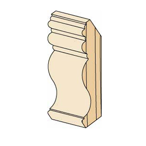Hardwood Crown Moulding